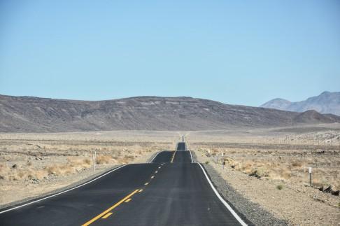 En route vers la Death Valley
