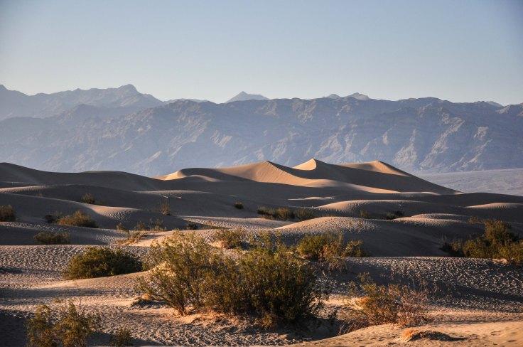 Les dunes de la Death Valley